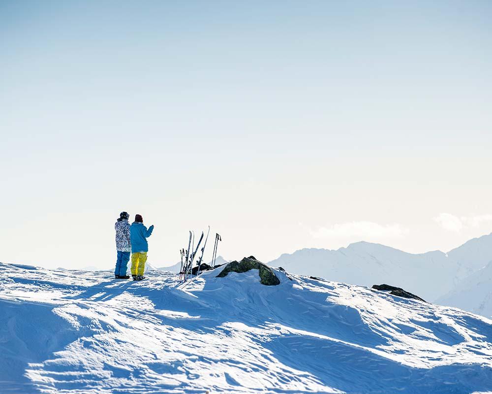 skiurlaub ende april schneesicherheit